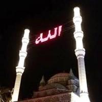 İstanbul Camileri Dijital Mahya