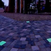 Büyük ve Kalabalık Meydanlar İçin Işıklı Parke Taşı