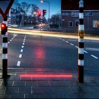 Caddeler İçin Işıklı Bordür