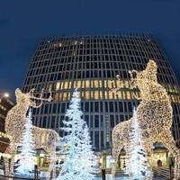 Noel Geyikleri Avm Yılbaşı Süslemeleri