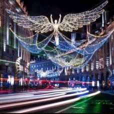 En Güzel Yılbaşı Cadde Süslemeleri